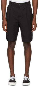 Comme des Garcons Homme Black Twill Shorts
