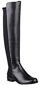 Marc Fisher As Is Leather & Stretch Over- the-Knee Boots Monica