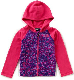 The North Face Little Girls 2T-6T Glacier Full-Zip Hoodie Jacket