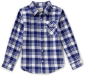 Lucky Brand Big Boys 8-20 Plaid Button-Front Long-Sleeve Shirt