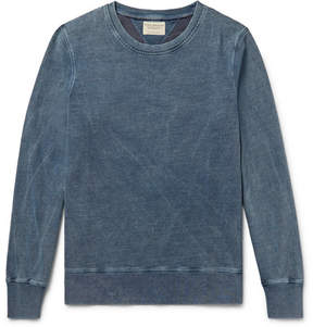 Nudie Jeans Sven Indigo-Dyed Organic Cotton-Jersey Sweatshirt