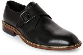 English Laundry Black Roding Monk Strap Shoes
