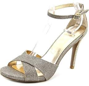 Material Girl Sara Women Open Toe Canvas Sandals.