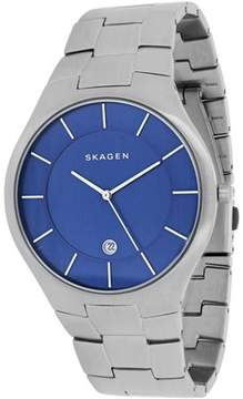 Skagen Men's Grenen Watch Quartz Mineral Crystal SKW6181