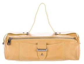 Marc Jacobs Leather Handle Bag - YELLOW - STYLE
