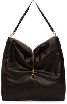 Stella McCartney Black Big Bubble Hobo Bag