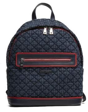 Love Moschino Denim Navy Ross Backpack