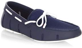 Swims Men's Mesh-Trimmed Lace Loafers