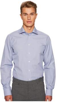 Eton Contemporary Fit Grid Box Shirt Men's Clothing
