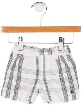 Burberry Boys' Nova-Check Canvas Shorts