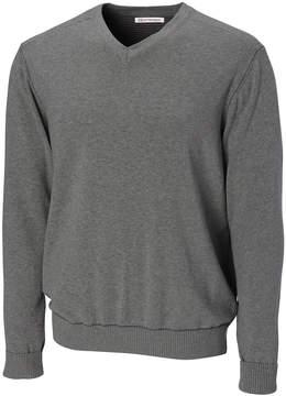Cutter & Buck Dark Gray Long-Sleeve V-Neck Sweater - Men