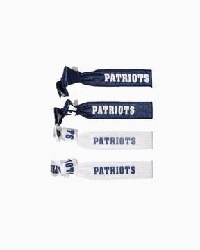 New England Patriots Hair Tie Set