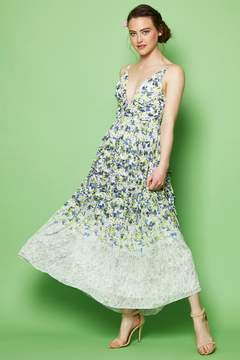 Everly Floral Print Maxi