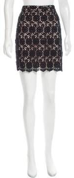 ALICE by Temperley Guipure Mini Skirt