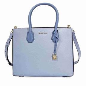 Michael Kors Mercer Large Accordion Tote- Pale Blue - ONE COLOR - STYLE