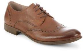 John Varvatos Lace-Up Leather Oxfords