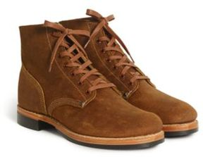 Ralph Lauren Boondock Suede Boot Light Java 10