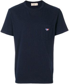 MAISON KITSUNÉ fitted plain T-shirt