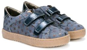 Pépé star pattern touch strap sneakers