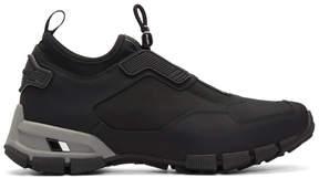 Prada Black Fly Technical Sneakers