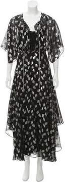 Pinko Metallic Maxi Dress w/ Tags