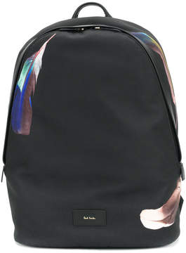 Paul Smith feather print backpack