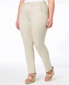 Celebrity Pink Trendy Plus Size Smart Trouser Jeans