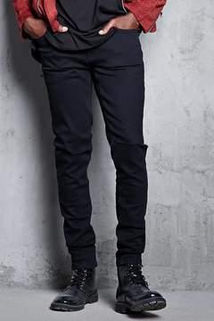 21men 21 MEN Slit-Knee Skinny Jeans