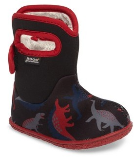 Bogs Infant Boy's Baby Bog Classic Dino Insulated Waterproof Boot