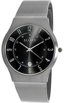 Skagen Men's 233XLTTM Grey Titanium Quartz Dress Watch