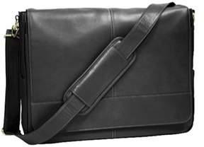 Royce Leather Unisex Messenger Bag 687-3.