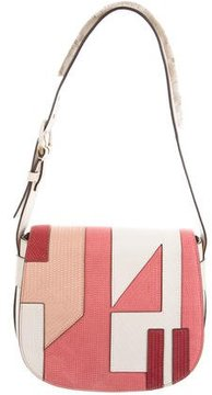 Tory Burch Patchwork Saddle Bag w/ Tags - PINK - STYLE