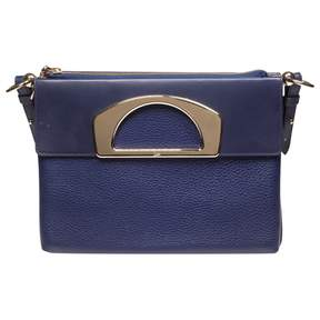 Christian Louboutin Blue Leather Handbag
