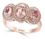Effy Blush Diamond, Morganite & 14K Rose Gold Ring