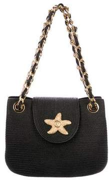 Eric Javits Squishee Chain-Link Shoulder Bag
