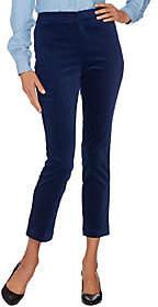 C. Wonder Velvet Slim Leg Ankle Pants