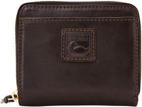 Dooney & Bourke Florentine Small Zip Around Wallet - BLACK BLACK - STYLE
