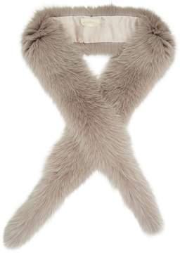 Max Mara Fox Fur Collar