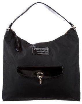Kate Spade Nylon Shoulder Bag - BLACK - STYLE