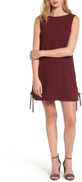 Cupcakes And Cashmere Women's Timberly Lace-Up Shift Dress