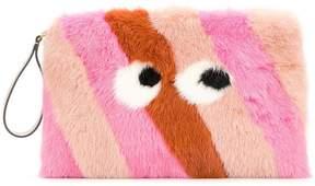 Anya Hindmarch Eyes clutch bag