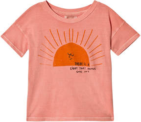 Bobo Choses Lobster Bisque Sun Short-Sleeved T-Shirt