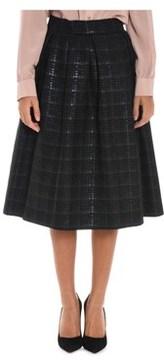 Altea Women's Black Polyester Skirt.