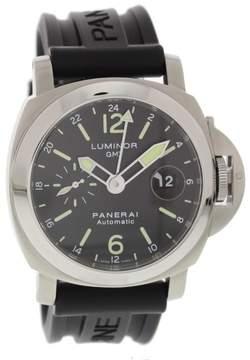 Panerai Luminor GMT PAM297 Stainless Steel 44mm Mens Watch