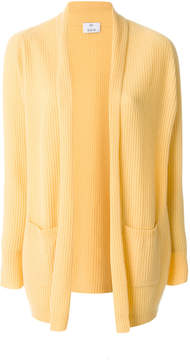 Allude long ribbed cardigan