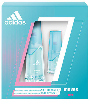 Adidas Moves for Her Women's Fragrance Set 2 Piece