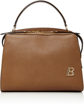 Bally Textured-Leather Shoulder Bag