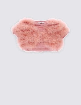 Marks and Spencer Marabou Cardigan (4-14 Years)