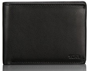 Tumi Men's Leather Wallet - Black