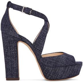 Jimmy Choo Indigo Denim April Sandals
